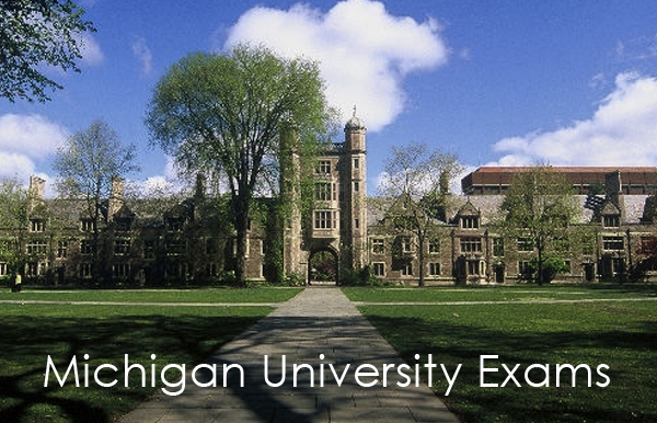 Michigan University Exams